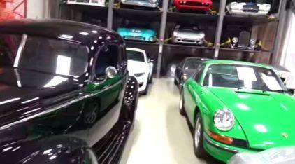 A Coleção dos Sonhos: carros clássicos, lendas das pistas e muitos supercarros