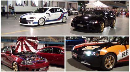 Só Japa! Os carros japoneses mais irados desfilando no Sambódromo de São Paulo