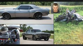 Bandido rouba Camaro 1968 restaurado (e valioso) e depois sofre acidente fatal