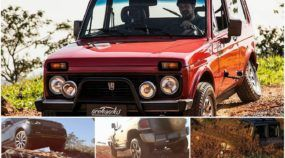Comparativo insano (4x4 Off-Road): Lada Niva x Troller T4 x Range Rover Vogue! Qual é o melhor nas trilhas?