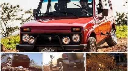 Comparativo insano (4×4 Off-Road): Lada Niva x Troller T4 x Range Rover Vogue! Qual é o melhor nas trilhas?