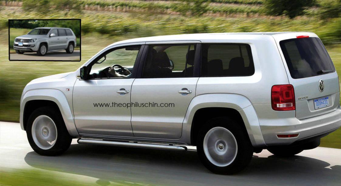 VW Amarok SUV