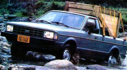 Ford Pampa 4×4: relembre a lendária pickup brasileira e veja-a em ação (atravessando até rio)!