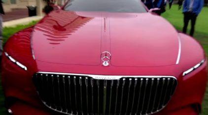 Vision Mercedes-Maybach 6: luxo extremo, glamour e muita potência (e életrico)