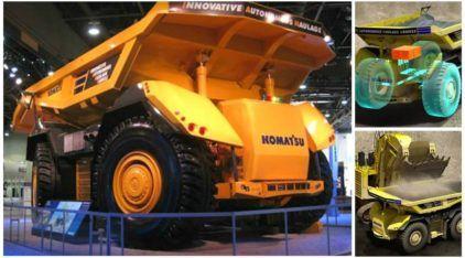 Caminhão do futuro (sem cabine e sem motorista)? Veja como funciona essa novidade da Komatsu com 2737cv!