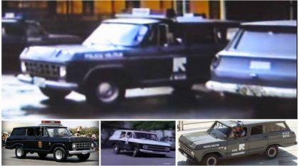 Lendas Brasileiras: Veraneio da Polícia, a mais intimidadora das Viaturas (Veja imagens da época)