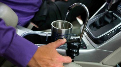 Ford inventa sistema para oferecer água (vinda do ar-condicionado) aos passageiros no carro