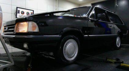 Você já viu uma Ford Belina Turbo? Vídeo revela detalhes (e a potência) dessa bela máquina no Dinamômetro