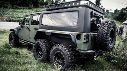 Jeep Wrangler com tração 6×6? Conheça essa novidade intimidadora ao extremo