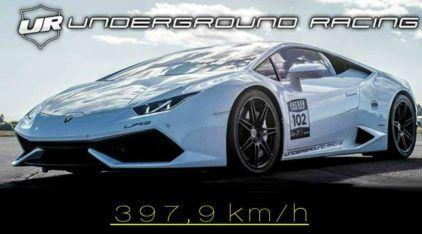 Como um furacão extremo, Lamborghini insano (com 2534cv) bate recorde mundial de velocidade!