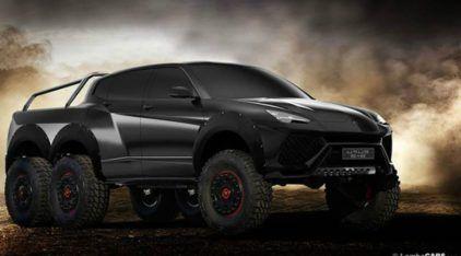 Lamborghini Urus 6x6: O que você acha dessa (polêmica) ideia?
