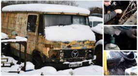 Resgate inacreditável: Depois de mais de 12 anos de (total) abandono, veja o que aconteceu com esse Mercedes-Benz!