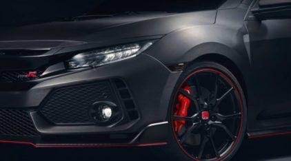 Finalmente é revelado o fabuloso novo Honda Civic Type R (veja primeiras imagens)!