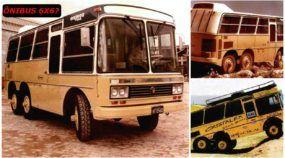 Único no mundo! Conheça o Ônibus