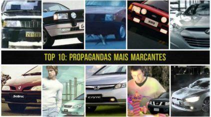 TOP 10: Propagandas incríveis que marcaram época (das 10 maiores marcas de carros do Brasil)