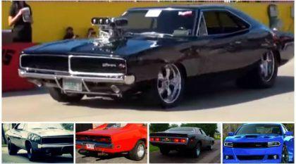 Dodge Charger ao extremo: Sinta e compare o ronco dos antigos e do atual Hellcat