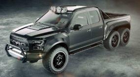 Nasce um novo Monstro (com tração 6x6 e mais de 600cv)! Conheça a nova Raptor preparada pela Hennessey