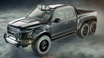 Nasce um novo Monstro (com tração 6×6 e mais de 600cv)! Conheça a nova Raptor preparada pela Hennessey