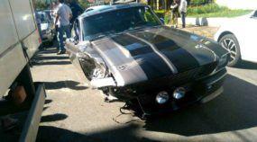 Em Curitiba, mecânico bate Mustang Eleanor (raríssimo) avaliado em quase R$ 2 milhões