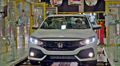 É assim que nasce o novo Honda Civic (Veja a linha de produção)