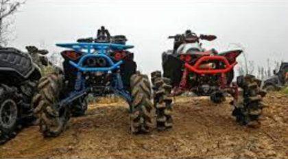 Trilhas Insanas: Quadriciclos radicais desafiam um clima extremo e muita lama