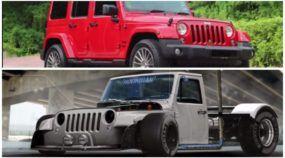 Você manja de Photoshop? Veja o que um artista fez com esse Jeep Wrangler
