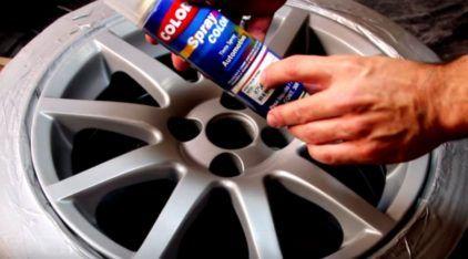 Tutorial completo: faça você mesmo a reforma e pintura das rodas do seu carro