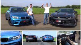 Duelo insano na Arrancada: Novo Camaro x Novo BMW M2! Quem ganha a disputa no Brasil?