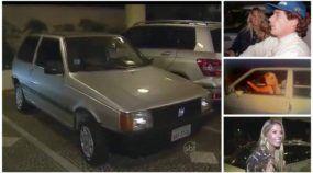 Esse é o Fiat Uno que o Ayrton Senna deu de presente para a Adriane Galisteu (e ela conserva até hoje)