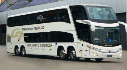 Novidade: O maior ônibus rodoviário já feito no Brasil é o novo Marcopolo Paradiso 1800 DD
