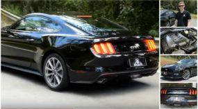 Bellote no AutoVídeos: Veja toda a fúria do novo Mustang GT (e ouça o motor V8 de 435 cv)