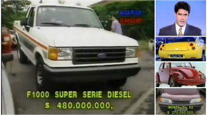 Como era o mundo dos carros (e seus preços) em 1993 e 1994 no Brasil