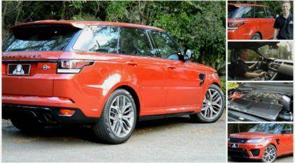 Bellote no AutoVídeos: Veja e ouça a mais brutal Range Rover (a SVR com V8 de 550cv) e seu ronco monstruoso