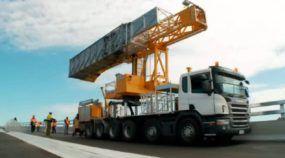 Máquina surpreendente! Vídeo revela como esse caminhão Scania ajuda a verificar a parte debaixo das pontes!