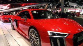 Top! Monstro alemão Audi R8 V10 Plus e toda a linha RS em detalhes no Salão do Automóvel 2016