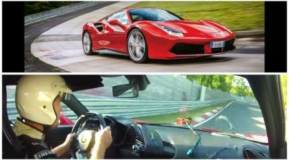 Ferrari 488 GTB na volta rápida, em Nürburgring: uma combinação insana e imperdível!