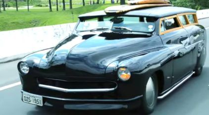 Confira detalhes de um belíssimo Ford Mercury Woodie 1951 (que roda no Brasil)