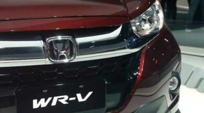 Lançamento mundial: Honda WR-V aparece primeiro no Salão do Automóvel 2016