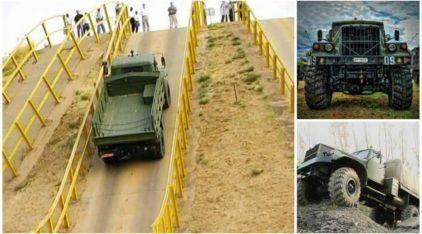 Nada pode parar um KRAZ, o Caminhão Militar mais brutal do mundo