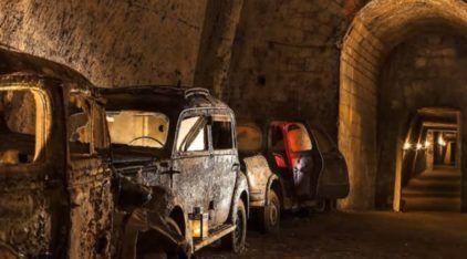 Esquecidos em Túnel secreto, esses Veículos ficaram congelados no tempo (por mais de 40 anos)
