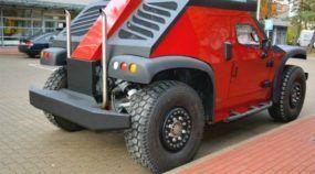 Nasce um novo monstro do Off-Road: Revelado o FUNTER com suas quatro rodas que esterçam