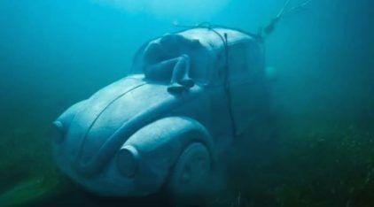 O curioso caso do Fusca no fundo do Mar