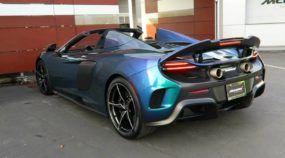 Pintura mais cara do mundo? Alguém pagou o preço de um Porsche para pintar esse McLaren