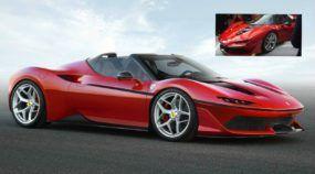 Surpresa: Esta é a nova Ferrari J50 (veja o primeiro vídeo revelado)