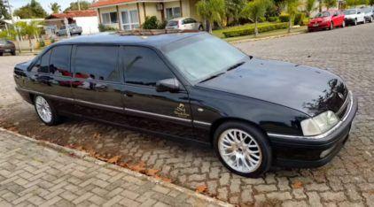 Achado! Conheça detalhes de um raro Omega Limousine criado (e legalizado) no Brasil