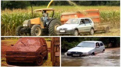 Tem coisas que só o Fiat Uno (das antigas) consegue fazer. Confira aqui!