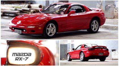 Conheça a história do Mazda RX-7 que foi de Nelson Piquet e ainda roda impecável