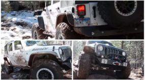 Off-Road Brutal: criaram um Jeep Wrangler com motor Hellcat (Hemi 6.2, V8 e 700cv)