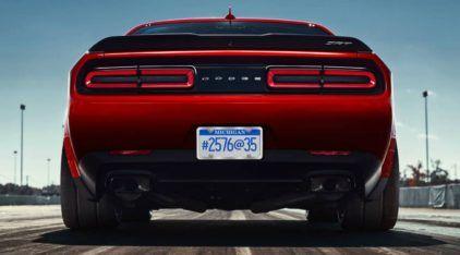 Mais brutal que o Hellcat, está chegando o Dodge Challenger Demon (com pneus de arrancada de fábrica)