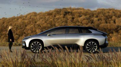 Com 1.064 cv, esse é o impressionante Faraday Future (que chega aos 100 km/h em 2.38 segundos)